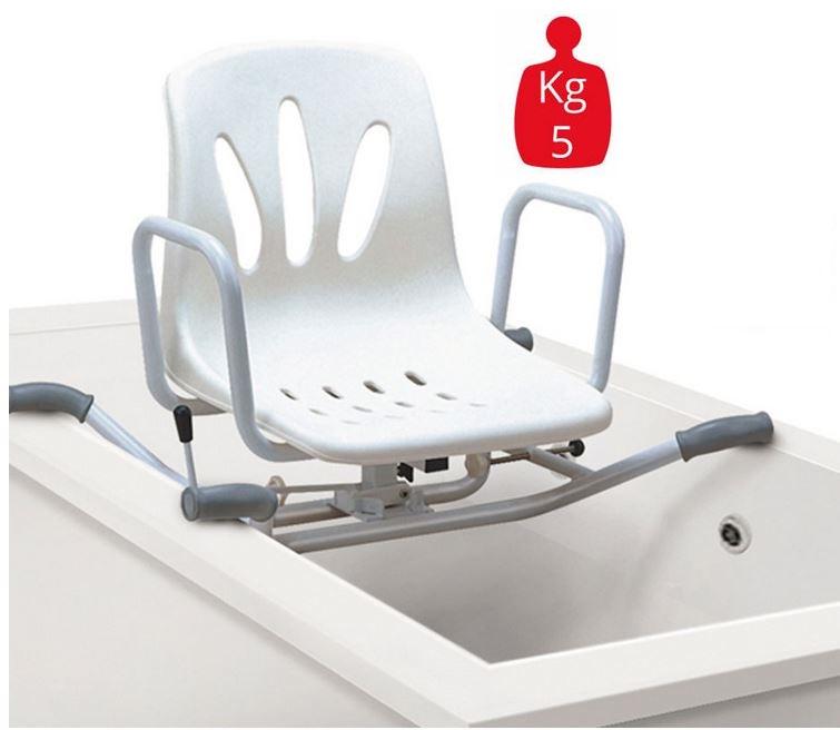 Seggiolino girevole surace per vasca da bagno ausili per disabili orthomedical di musso katia - Seggiolino per vasca da bagno ...